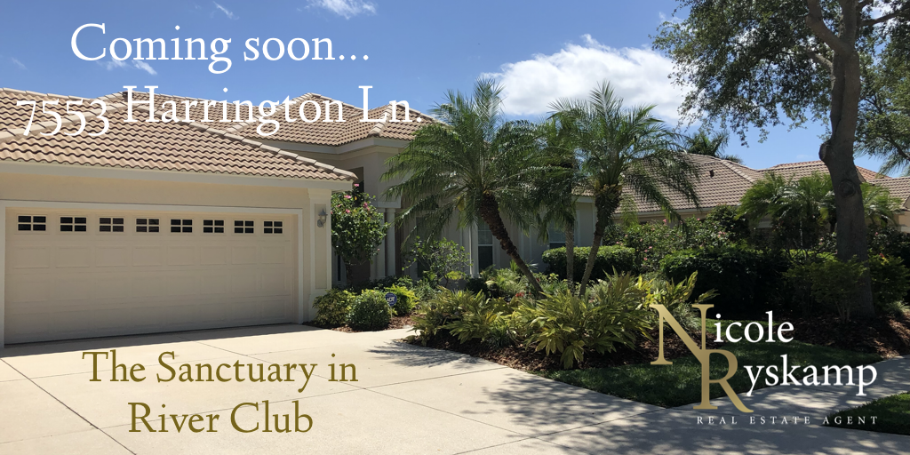 Coming to the market soon in the Sanctuary in River Club