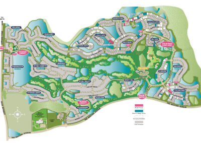 Country Club East Community Map